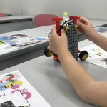 ロボット教室体験の様子