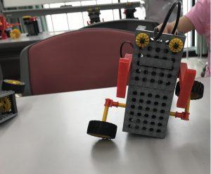 ロボット教室体験完成